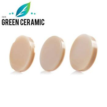 green milling discount price 5 pieces 18 colors dental PMMA block for temporary crown and coping