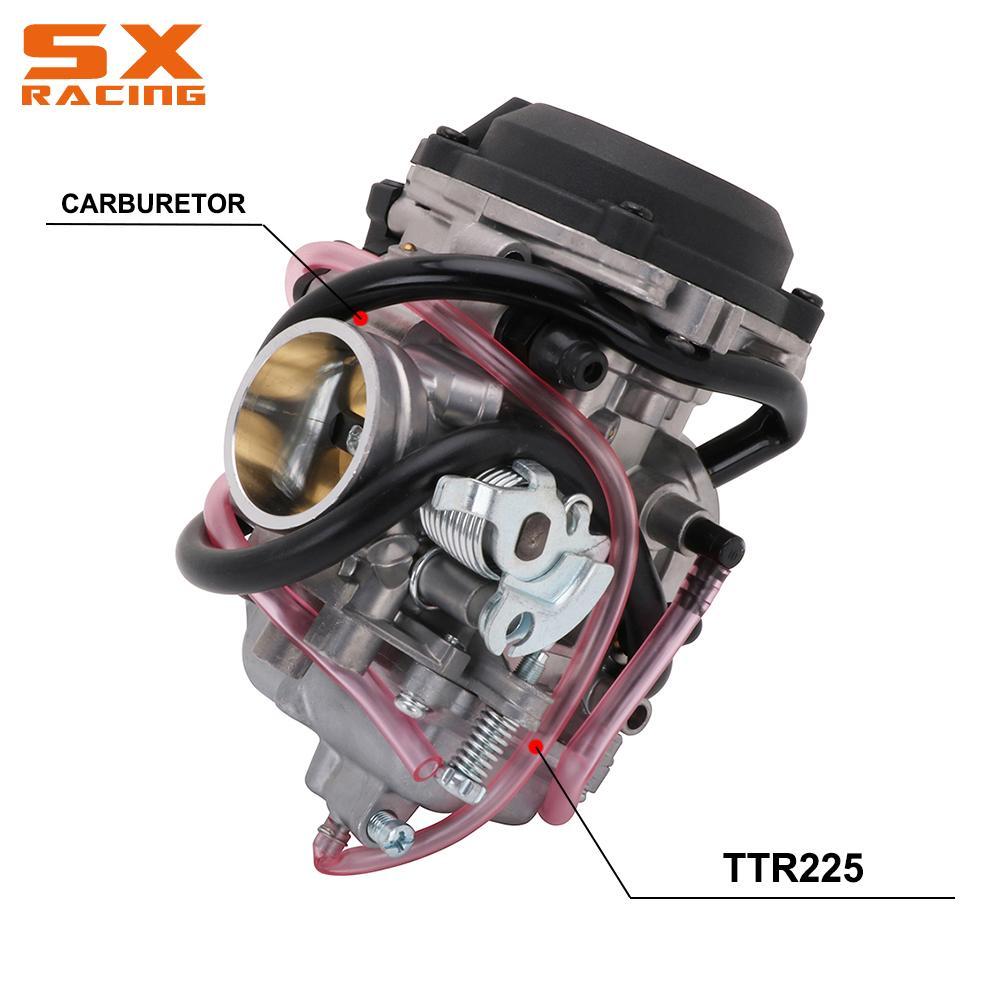 Мотоциклетный карбюратор 34 мм, Ускорительный Насос, гоночный карбюратор для скутера, мотоциклетная часть для Yamaha TTR225 TTR 225, мотоциклетный кр...