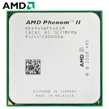 AMD Phenom II X4 945-enchufe de CPU HDX945WFK4DGM AM3 95W 3,0 GHz 938-pin Quad-Core CPU de escritorio procesador X4 945 Socket am3