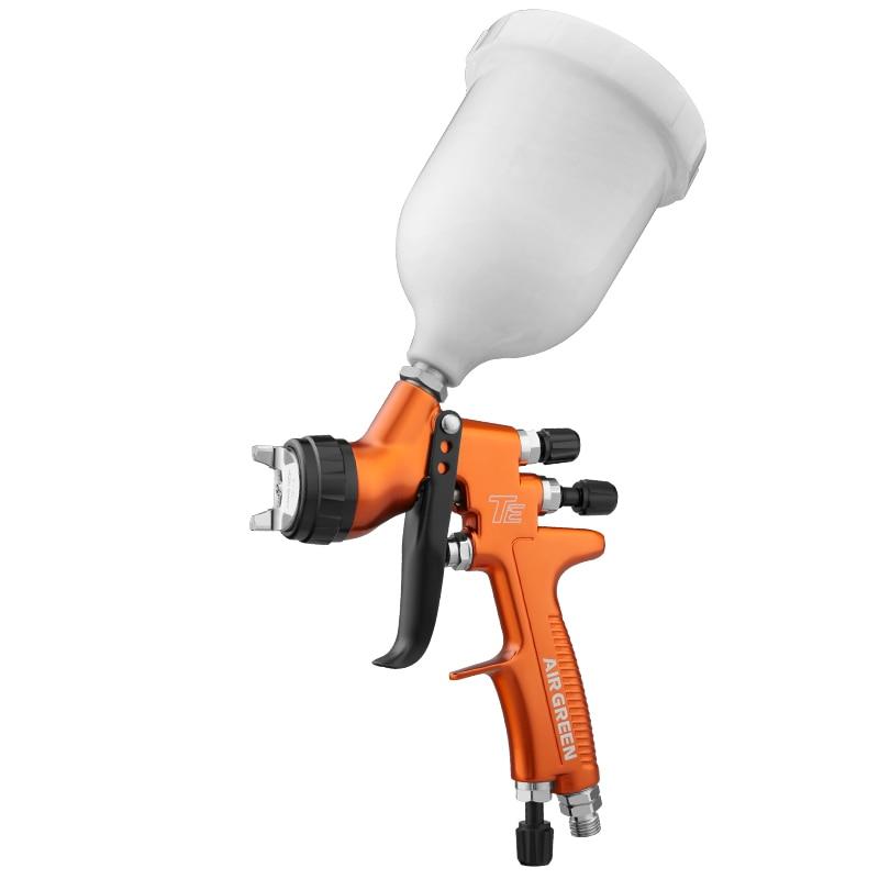 High-end pro spray gun 1.3mm transparent coat varnish air paint adjust 30cm pattern width