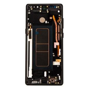 Image 4 - ORIGINAL 6.3 SUPER AMOLEDจอLCDกรอบสำหรับSAMSUNG GALAXYหมายเหตุ8 Note8 N950 N950FจอแสดงผลTouch Screen Digitizer assembly