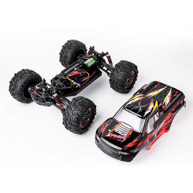 1/10 2.4G 4WD Brushless RC Car Remote Control Car Toy High Speed 60km/h Vehicle Models Toys Electric Off-road Racing Car 3