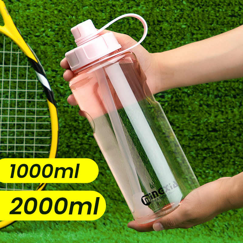 KESYOO Sports Water Bottle Outdoor Drinking Bottle Large Capacity Water Bottle for Fitness Gym Camping Hiking Running Cycling Outdoor Sports 800ml