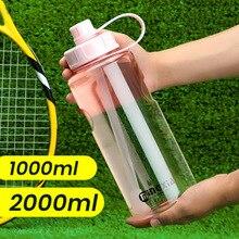 Venda quente ao ar livre grande capacidade esportes garrafas de água portátil escalada bicicleta garrafas de água bpa livre beber garrafa de viagem