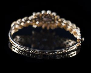 Image 5 - Dazz Luxury Colorful Zircon Round Pendant Necklace Earrings Ring Bangle Nigeria Wedding Jewelry Set Bridal Women Dubai Jewellery