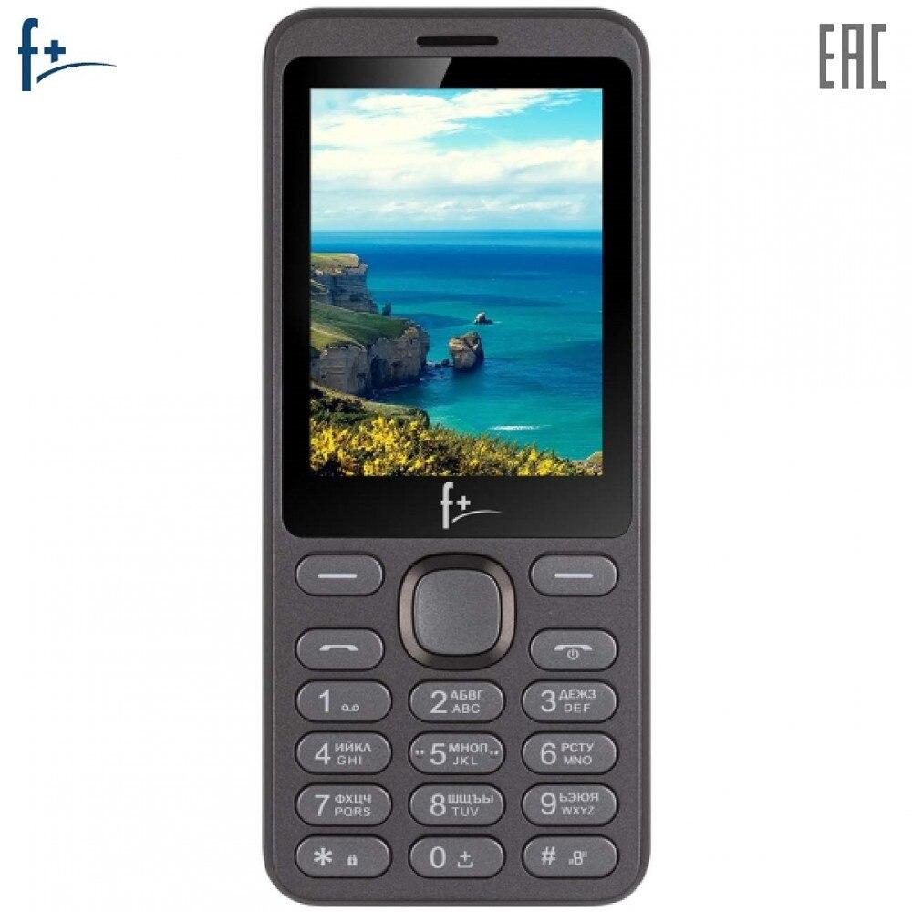 Mobile Phones F+ S286 cellular phone cellphone newmodel S 286 2.4'' 32MB RAM 32MB up to 16GB flash 03Mpix 2 Sim Micro-USB 1000mAh F