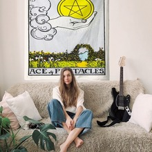Tarot Tapestry Decoration Horoscope Home-Fabric American-Color And European