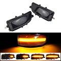 Для Volvo C30 C70 S40 S60 V40 V50 V70 2008- 2010 светодиодный динамический сигнал поворота светильник боковое зеркало последовательного лампа мигалка Индика...