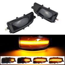 Para volvo c30 c70 s40 s40 v40 v50 v70 2008  2010 led dinâmico turn signal luz lateral espelho indicador de pisca da lâmpada sequencial