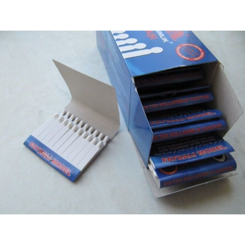 Styptic Pencils 480 Sticks Disposable Stops Cuts Bleeding 24 Matchbooks Razor