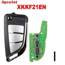 5 teile/los Flip remote Xhorse VVDI Remote Draht Remote key XKKF20EN für VVDI Schlüssel Werkzeug