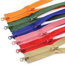 5# разъемная застежка-молния 80/90/100/120/150 см двойная молний Пластик резиновые цветные молнии для одежды сумка принадлежности для шитья товары