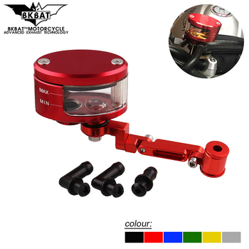 1pcs Motorcycle Brake Fluid Reservoir Rear Master Cylinder Tank Oil Cup FOR BMW k1200lt k1200s k1600 r1100s k100 c650gt c600 image