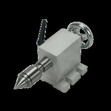Mandrin daxe rotatif, cnc, 50mm, 65mm, 80mm, pour activité