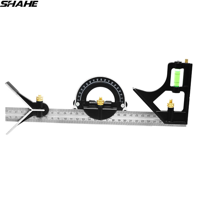 Shahe Multi-function Angle Ruler 300 mm Digital Angle Ruler Protractor Combination Square Angle Ruler Stainless Steel