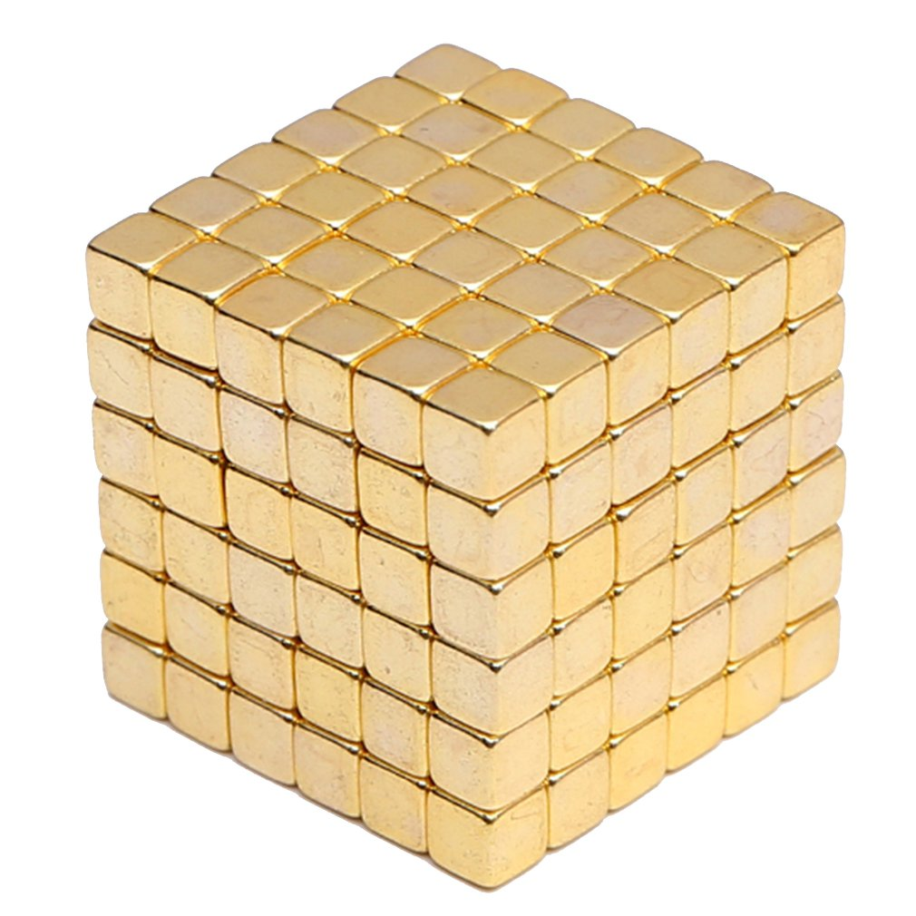 3MM/4MM/5MM 216 Pieces Magic Balls NdFeB Magnetic Balls Magnetic Gift Bucky Balls Decompression Educational Toys
