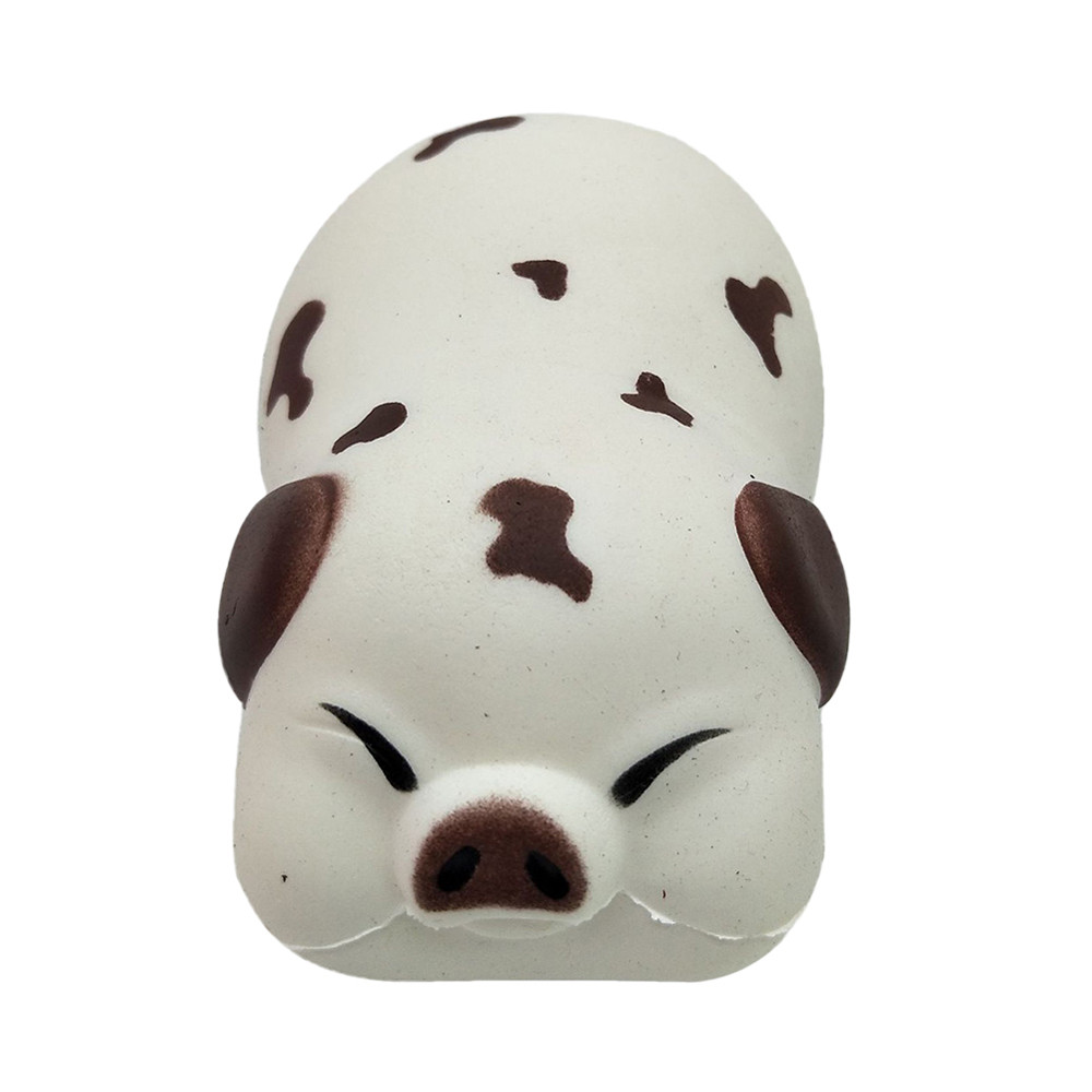 Cute Pig Toast Scented Charm Slow Rising Squeeze Stress Reliever Toy Funny Soft Scented Kid Toy Gift Toys Anti-stress  L1223