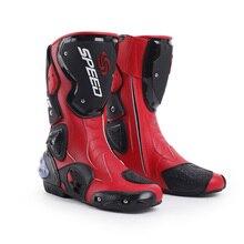 Байкерские ботинки из микрофибры; обувь В рыцарском стиле; нескользящая водонепроницаемая обувь до щиколотки; размеры 40-45