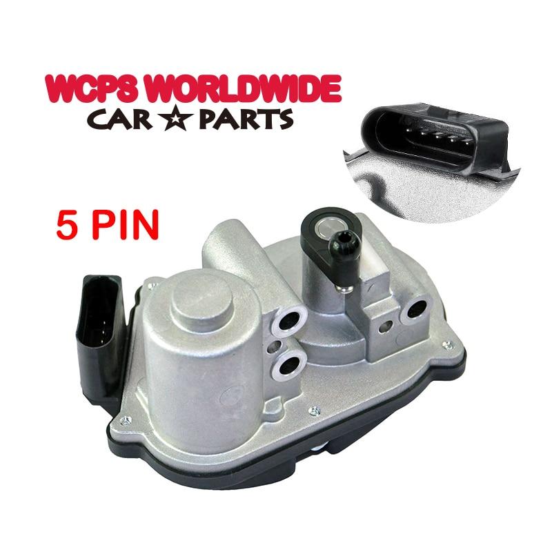 motor do atuador da aleta do coletor de admissao para v w golf mk5 mk6 plus