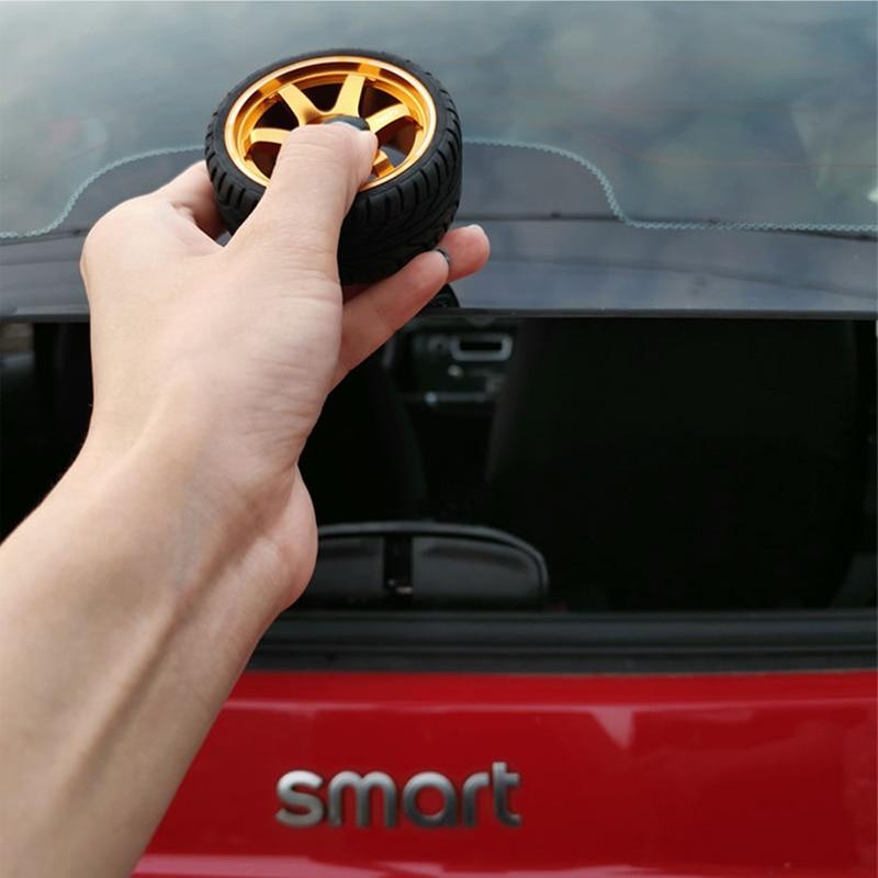 JTAccord Car Trunk Door Handle Decoration Rear Door Knob Case Cover Moulding Sticker Trim Modified Protector Exterior Decoration for Smart 453 Fortwo 2015-2019,Car Exterior Accessories,1 Pcs