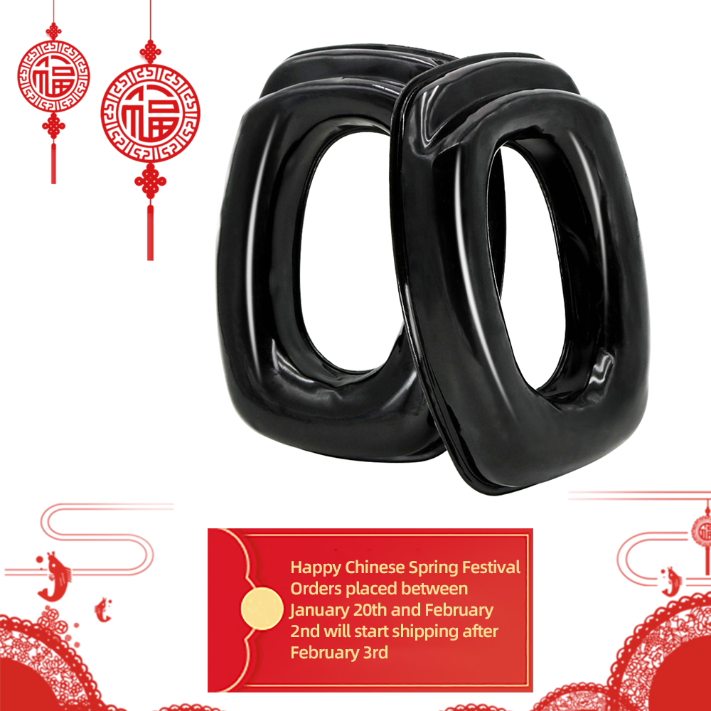Sightlines Gel Ear Pads For Howard Leight Impact Sport Electronic Shooting Earmuff Tactical Hunting Hearing Protection Headset