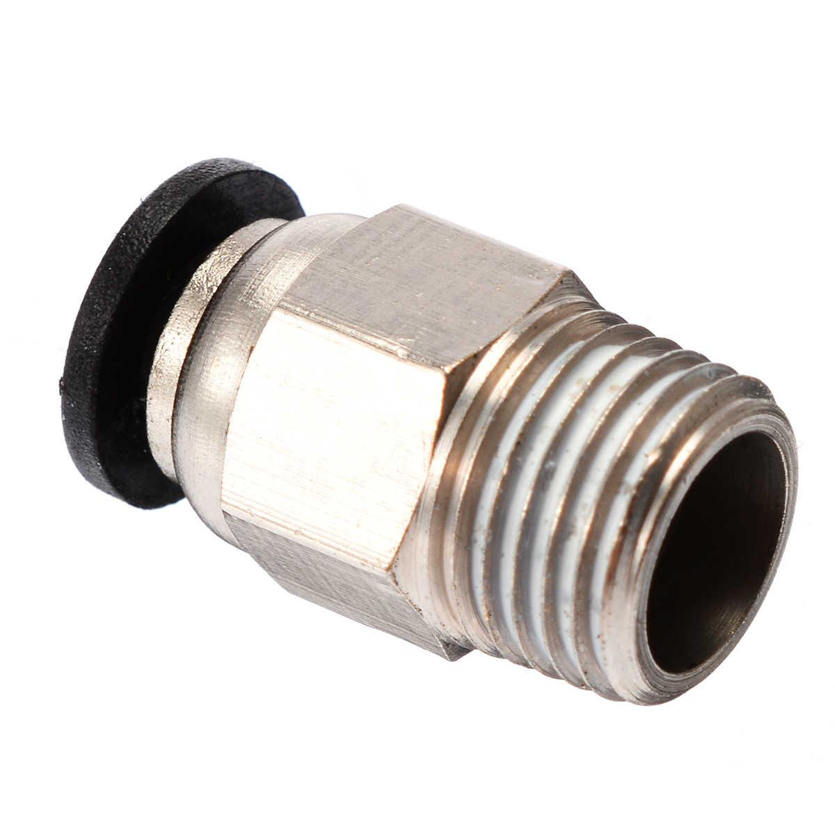 Mayitr 5/10 قطعة دفع في الإفراج السريع المناسب موصل طابعة ثلاثية الأبعاد أنبوب موصلات ل ثلاثية الأبعاد V6 PC4-M10 مستقيم أنبوب