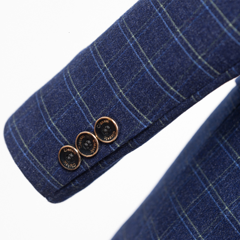 Гладкие лезвия Мужчины носить броню тела и Тонкий Блейзер Куртка для двух человек двери весной - 5