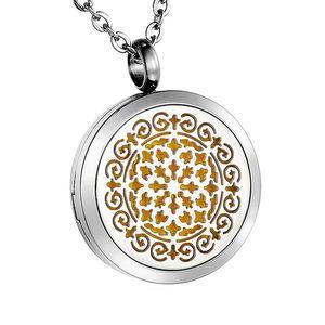 Персонализированные Гравированные ароматерапия диффузор ожерелье Esstenial кулон с маслом кольцо из нержавеющей стали 316L с & 6 войлочные прокла...