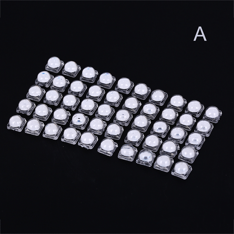 LED Lens Reflector Collimator For 5050 SMD 10X8mm Convex Optical Lens Reflector Collimator 50pcs/set 30 60 Degree