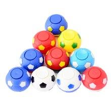 Huilong spiner brinquedo presentes novo futebol fingertip giroscópio dedo brinquedos de descompressão spinner mão girar rotação