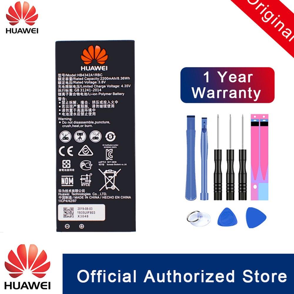 HuaWei Original HB4342A1RBC Batterie Für Huawei y5II Y5 II 2 Ascend 5 + Y6 honor 4A SCL-TL00 honor 5A LYO-L21 telefon batteria