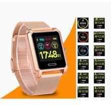 Новые умные многофункциональные спортивные часы с миланским