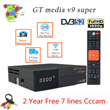 GT MEDIA V9 Super H.265 Satellite TV Receiver Full HD 1080P
