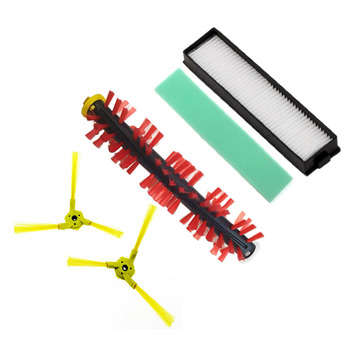Filter Sponge Brush Set Kit For LG HomBot VR6270LVM VR65710 Vacuum Spare Parts