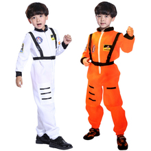 Cosplay Costume Helmet Jumpsuit Pilots Astronaut Purim Carnival Girl Baby for Boy Outfit