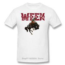Ween Cowboy T-shirt in cotone moda Casual a maniche corte Cool e divertente