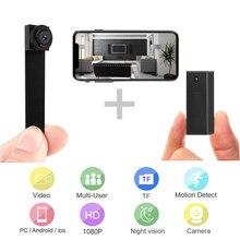 Mini câmera wi fi câmera inteligente duplo len câmeras micro câmera 1080p sensor de movimento câmera casa securaty pequenas câmeras