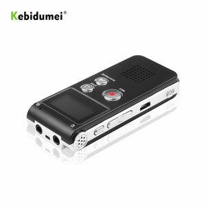 Image 5 - Kebidumei 8GB קול דיגיטלי מקליט נטענת דיקטפון טלפון אודיו נגן אודיו מקליט MP3 נגן עם מיקרופון