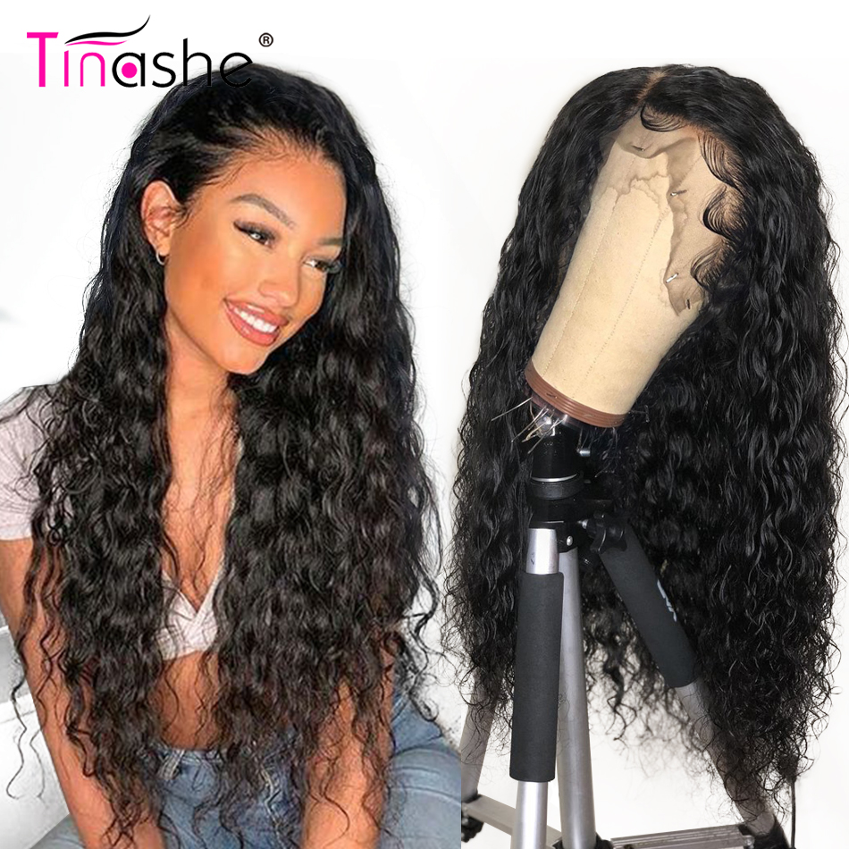 Tinashe Hair Water Wave Wig 360 Lace Frontal Wig 180 250 Density Curly Human Hair Wig Remy Brazilian Lace Front Human Hair Wigs