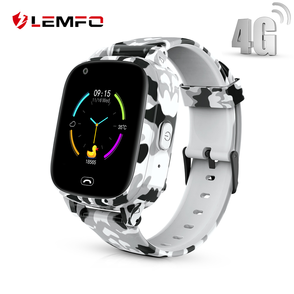 LEMFO LEC2 Pro Kids Smart Watch 4G GPS Wifi 650Mah Battery Baby Smartwatch Remote Monitor SOS For Children Support Take Video(China)