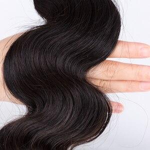 Image 5 - モカ髪 10Aペルーのバージンヘア実体波 3 バンドル 1 4*4 レースクロージャー人毛 100% 送料無料