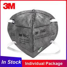 Mascarilla de seguridad higiénica para adultos, paquete Individual 3M KN95, 9541/9542 reutilizable, filtro FFP2