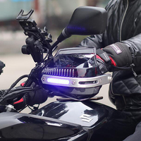 Motorcycle accessories shatter resistant handlebar protector bullet FOR Yamaha fjr 1300 dtr 125 Yamaha Aprilia Benelli bj500