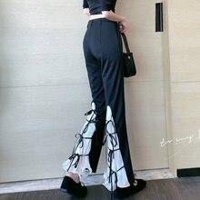 Zosol 2020 Новый стиль чувство дизайна со штанами клеш штаны
