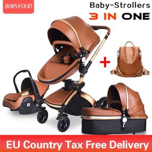 Brand newborn pram Babyfond 3