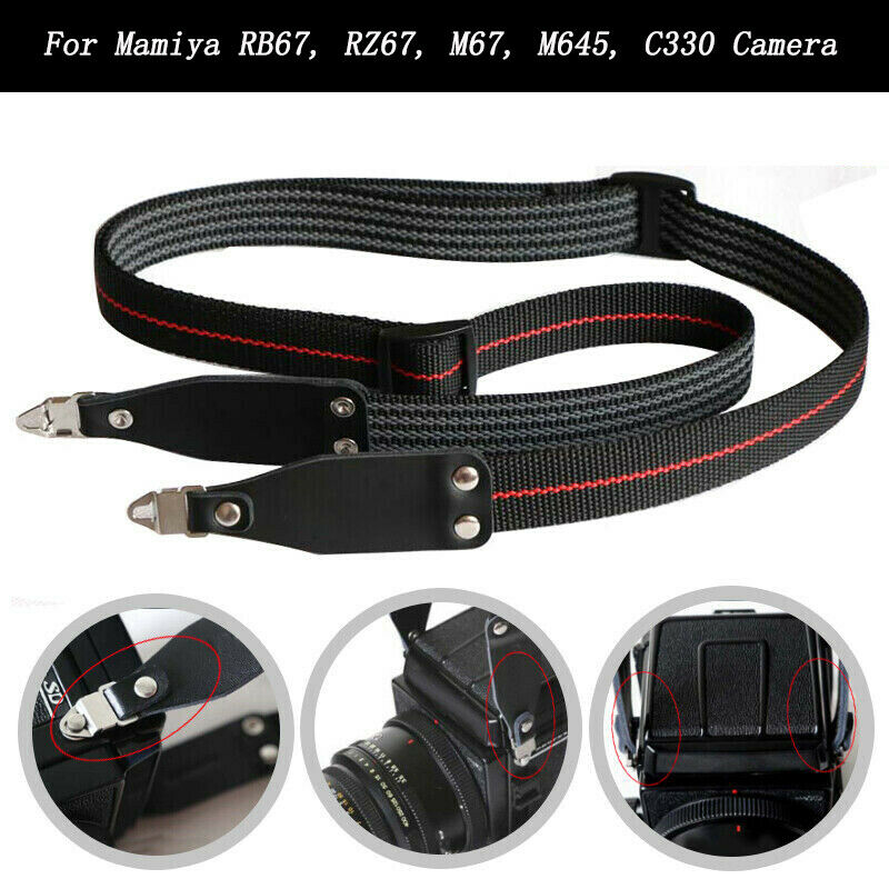 For Mamiya Camera Neck Shoulder Strap RB67 RZ67 M67 M645 C330 C220 Pro S Cameras Strap Accessories Part