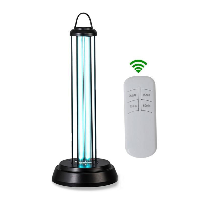 Uv Sterilizer Light Tube Bulb Disinfection Bactericidal Ultraviolet Lamp Remote Control Mite Lights Ozone Germicidal Quartz Lamp
