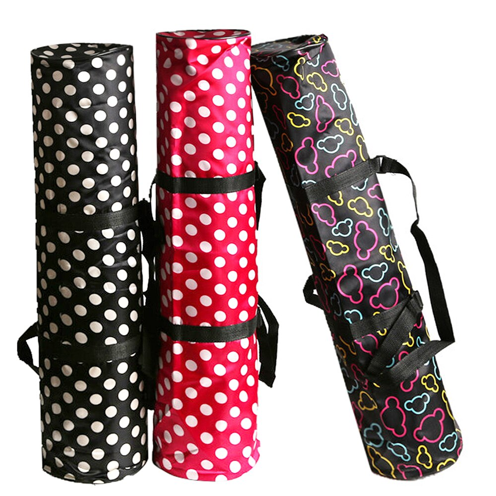 Yoga Mat Bag Water Repellent Mat Yoga Mats Cover Carrying Pack Zippered Mat Storage Bag With Phone Pocket