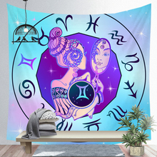 Twelve Constellations Tapestry Digital Printing Decorative Tapestry Wall Background Tapestry Wholesale Art Tapestry Wall недорого