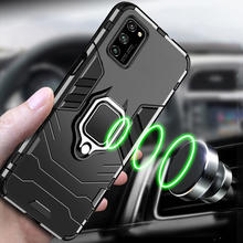 For Huawei Honor 30 30s V30 Pro V20 20 Honor 8x 8s 9x Play3 Magnetic Car Phone Holder Cover Tpu+pc Bumper Case leather texture matte mobile phone case for huawei honor 30 v30 pro 30s 30 v30 v20 20i 20 10 9x 8x note10 phone cover